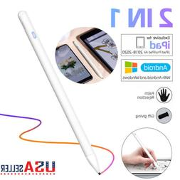 2 in 1 Active Stylus Pen Pencil with Palm Rejection For iPad