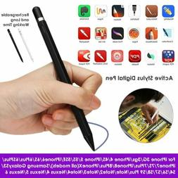Digital Active Stylus Pen Pencil For iPad Android Touch Scre