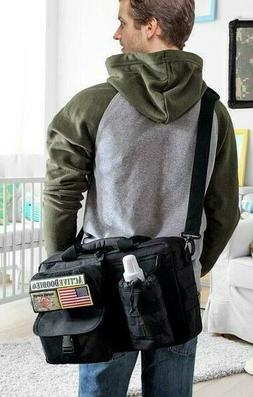 Active Doodie Dads DiaperBag Tactical Style Squad Patch Med