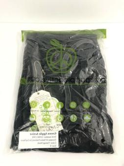 Green Apple Active Wear Style GF8811WR Vintage Black Size Sm