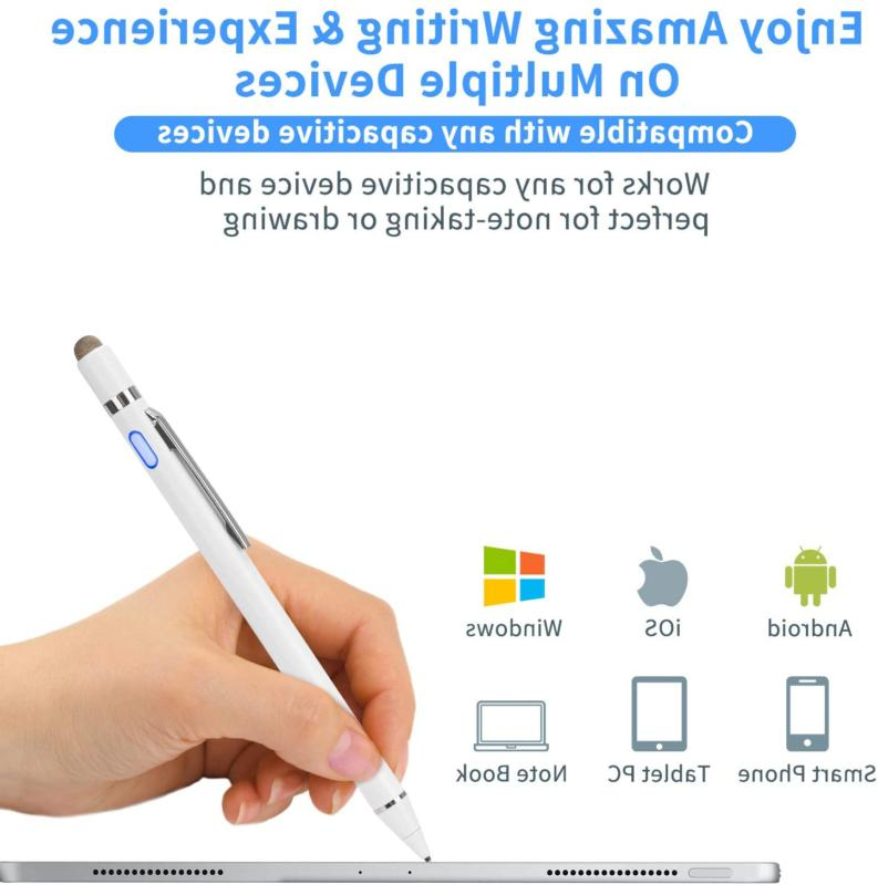 Active Stylus Pen Ultra Fine for iPad iPhone Tablets