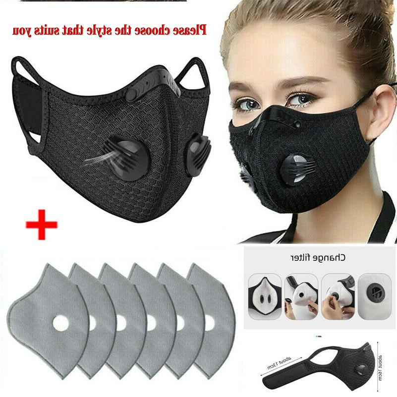 air purifying washable face mask activated carbon