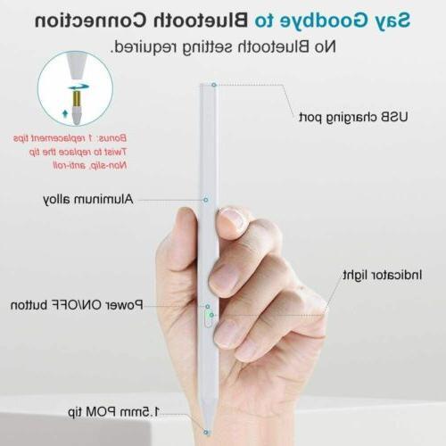 MoKo Rejection Stylus Pen Magnetic Pen iPad 2019/iPad 10.2
