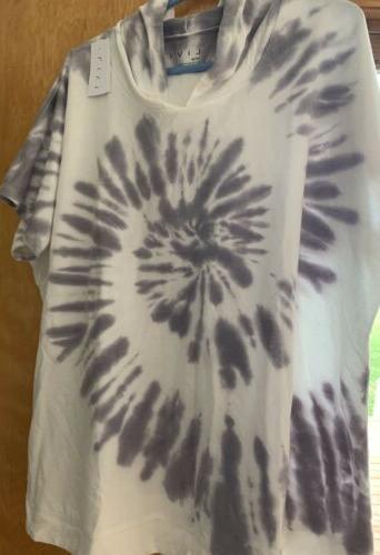 livi active by short sleeve tie dye