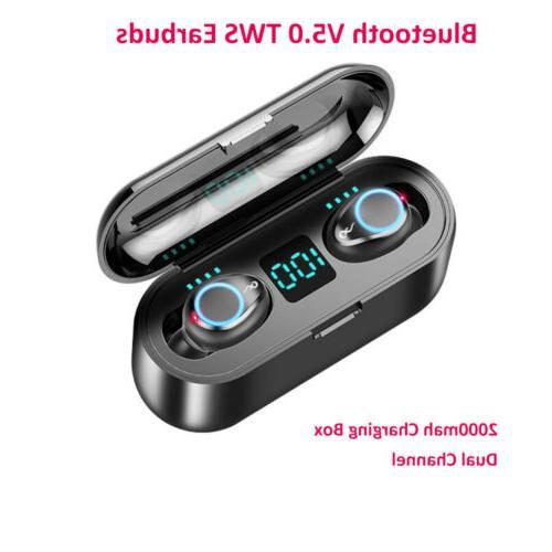 Mini Bluetooth With Bass Twins Earphone
