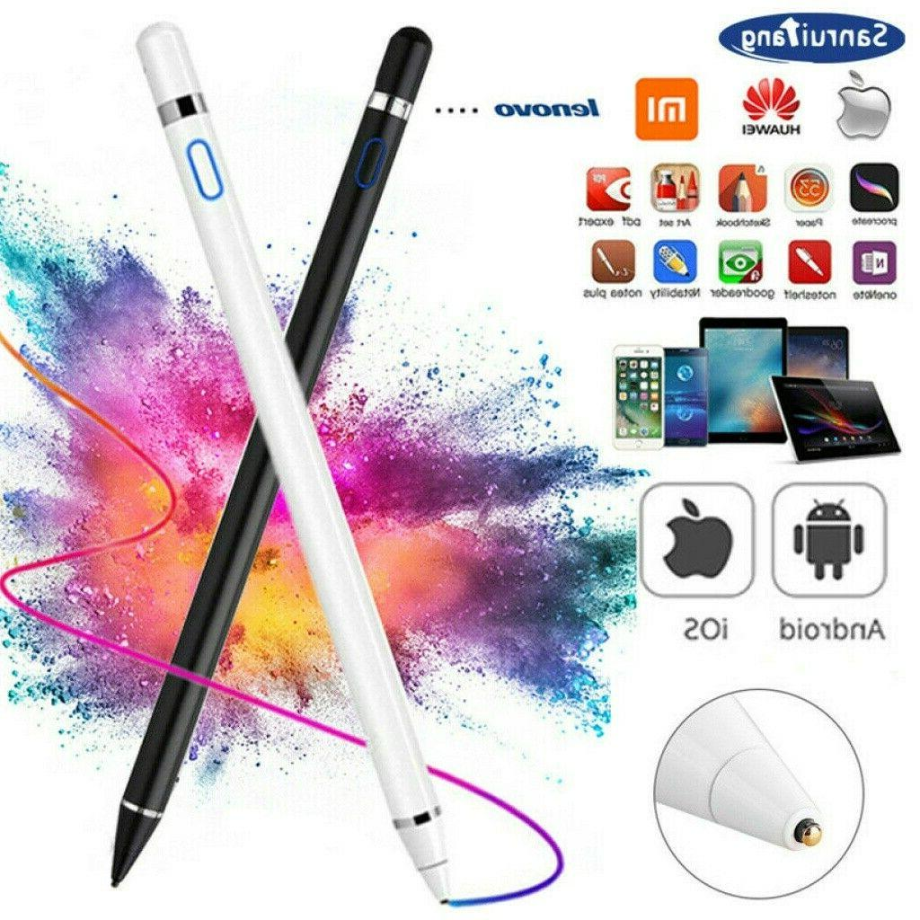 rechargeable capacitive active pen stylus for iphone