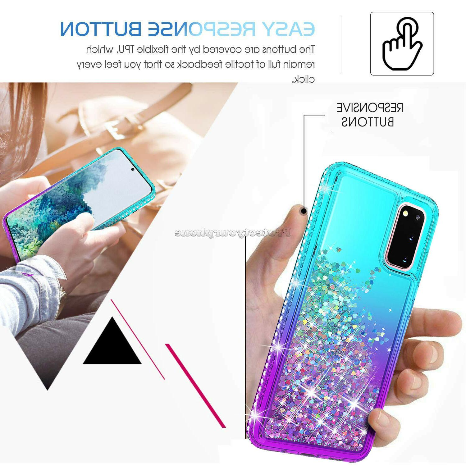 For Samsung Galaxy Ultra S10 Bling Clear Case