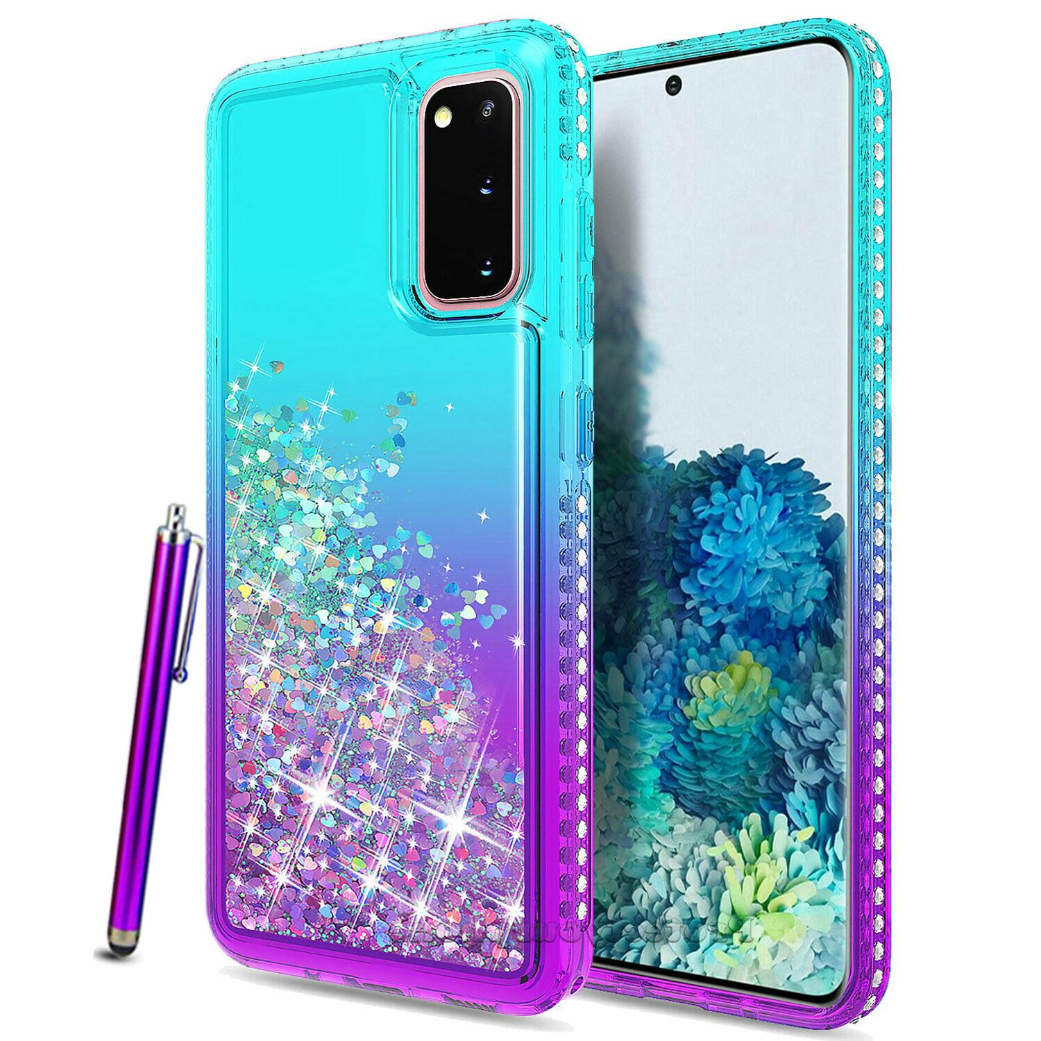 For Samsung Galaxy Ultra Plus Bling Glitter Clear Soft Case