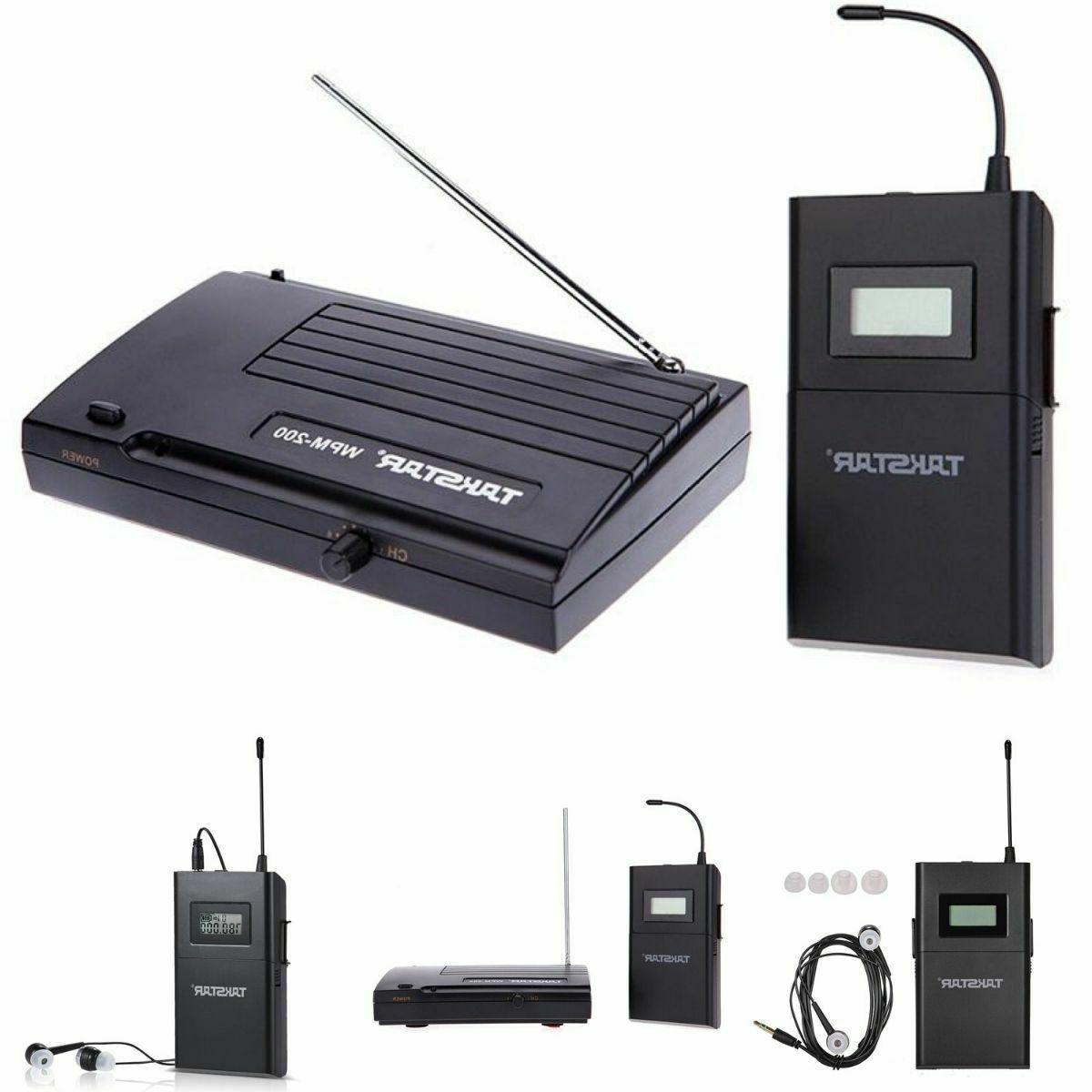 takstar wpm 200 uhf stage wireless monitor