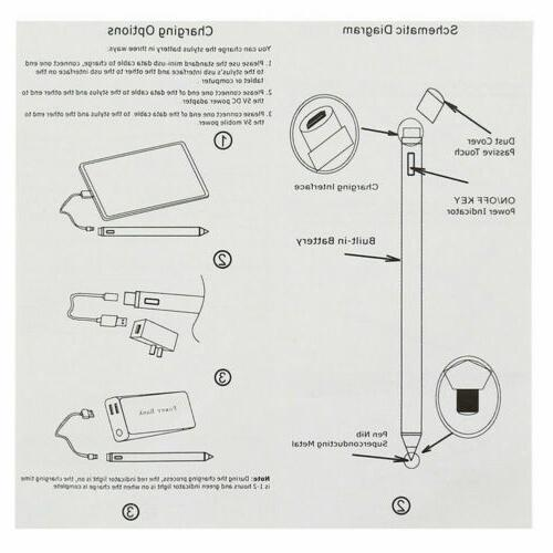 Universal Active Stylus For Drawing Capacitive Screen Stylus