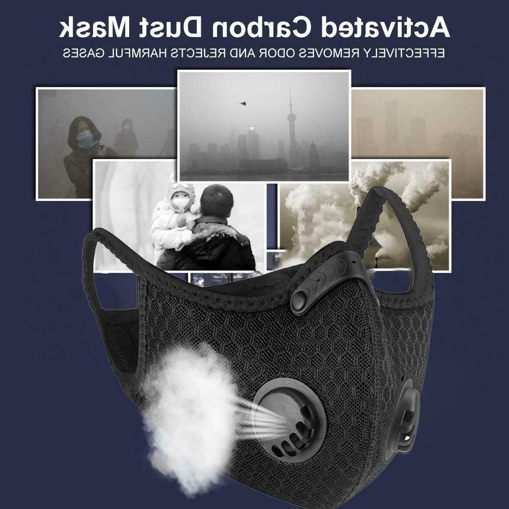 Washable Mask Respirator Face Filter