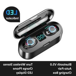 mini wireless bluetooth earbuds with mic true