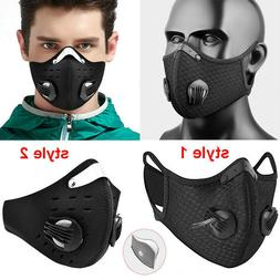PM-2.5 Washable Face Mask Activated Carbon Filters Cycling B