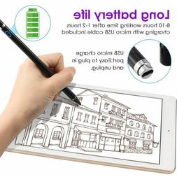 Rechargeable Active Stylus Pen Capacitive 1.5mm Fine Tip for