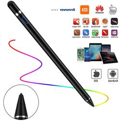 Rechargeable Capacitive Active Pen Stylus for iPhone iPad Ul