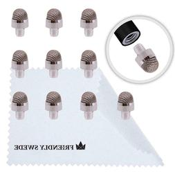Pack of 10 Replacement Fiber Tips for The Friendly Swede Rep