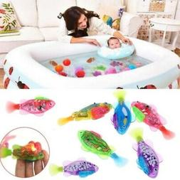 Robot Fish Activated Battery Powered Swimming Boys Bath Pet