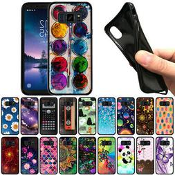 """For Samsung Galaxy S8 ACTIVE G892A 5.8"""" TPU Black Silicone S"""