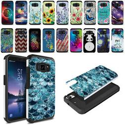 """For Samsung Galaxy S8 ACTIVE G892A 5.8"""" Hybrid Bumper Hard T"""