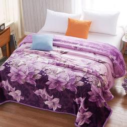 soft blanket multi-size blanket throws on sales velvet bed c